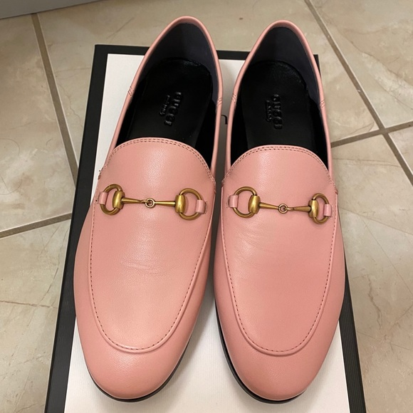 Authentic Gucci Brixton Loafer in Perfect Pink